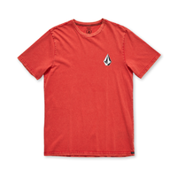 Volcom Deadly Stone Acid Why Rock Red Shortsleeve Youth Tee