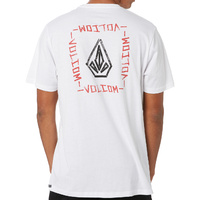 Volcom Blair Stone White Youth Short Sleeve Tee
