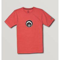 Volcom Eddiot Dusty Red Youth Short Sleeve Tee