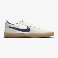 Nike SB Heritage Vulc Summit White Navy Mens Skateboard Shoes