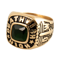 Deathwish High Gold Ring