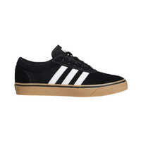 Adidas Adi-Ease Black White Gum Mens Suede Skateboard Shoes