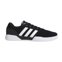 Adidas City Cup Black White White Suede Skateboard Shoes