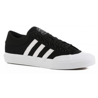 Adidas Matchcourt Black White Black Mens Suede Skateboard Shoes