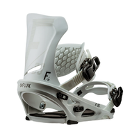 Flux DS White Mens 2019 Snowboard Bindings