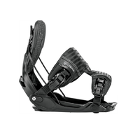 Flow Five Black Mens 2018 Snowboard Bindings