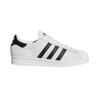 Adidas Superstar ADV White Black Gold Mens Skateboard Shoes