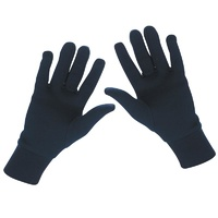 Sherpa Merino Black Gloves