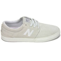 New Balance Brighton 344 DRT White Grey Mens Suede Skateboard Shoes