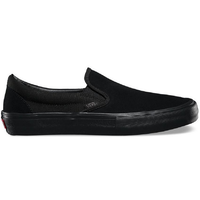 Vans Slip-On Pro Blackout Mens Skateboard Shoes