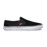 Vans Slip-On Pro Black White Gum Mens Skateboard Shoes