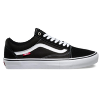 Vans Old Skool Pro Black White Mens Skateboard Shoes