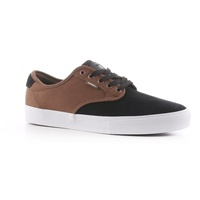 Vans Chima Ferguson Black Teak Mens Suede Skateboard Shoes