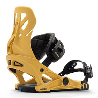 NOW Pro Line Mustard Mens 2021 Snowboard Bindings
