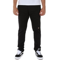 Dickies 811 Skinny Fit Double Knee Black Mens Work Pants