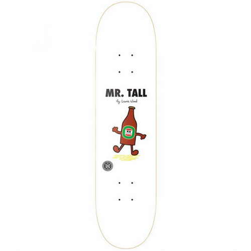 "Parlay Mr Tall Lewis Wood 8.25"" Skateboard Deck"