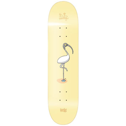 "Sweetheart Brentos Bin Chicken 7.75"" Skateboard Deck"