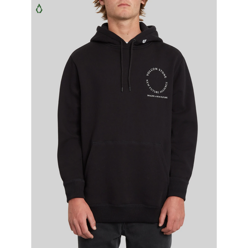 Volcom Supply Stone New Black Mens Pullover Hoodie [Size: Medium]