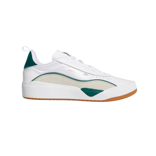 Adidas Liberty Cup White Green Brown Mens Skateboard Shoes [Size: 8]