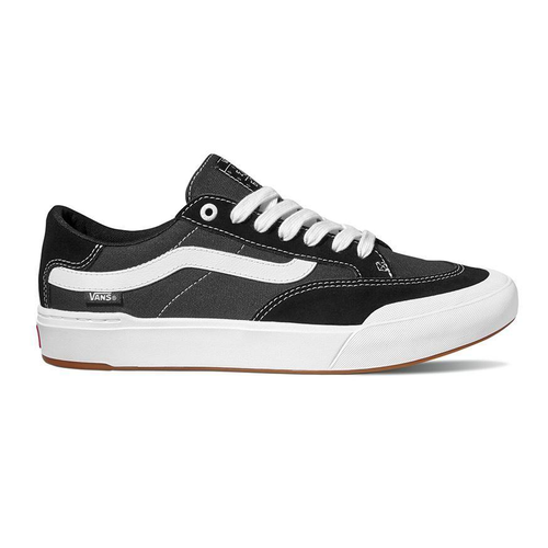 Vans Berle Pro Black True White Mens Skateboard Shoes [Size: 8]
